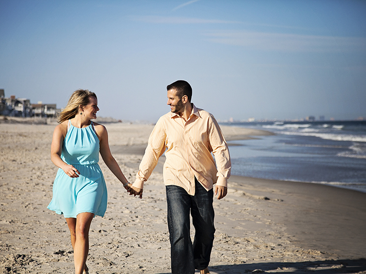 Beach Engagement Photography, Ocean City, NJ