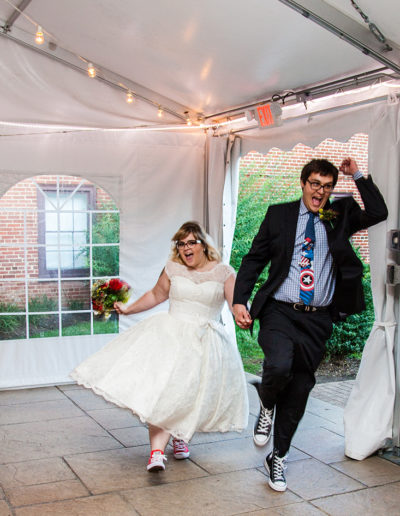Superhero themed wedding in Eastampton, NJ