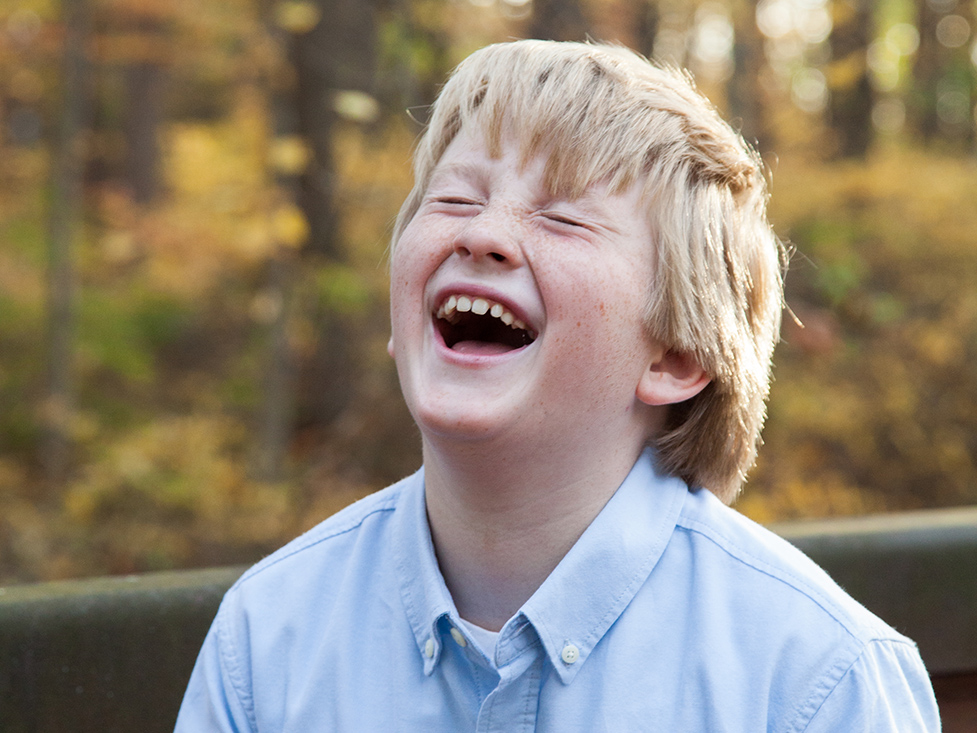 Little Boy Laughing, Kids Portraits