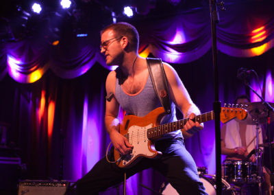 Theo Katzman performing in Vulfpeck in NYC