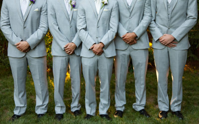 A Little Help for the Groom and his Men from a NJ Wedding Photographer