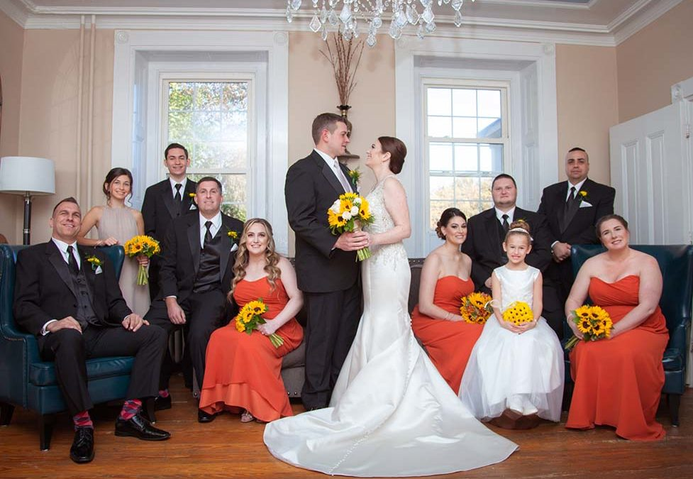 Jen and Rich- Fall Wedding at La Luna in Bensalem, PA
