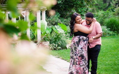 Sayen Gardens Engagement Session